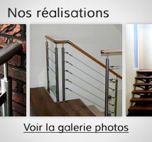rampe d 39 escalier et garde corps en kit pour escalier simple poser. Black Bedroom Furniture Sets. Home Design Ideas