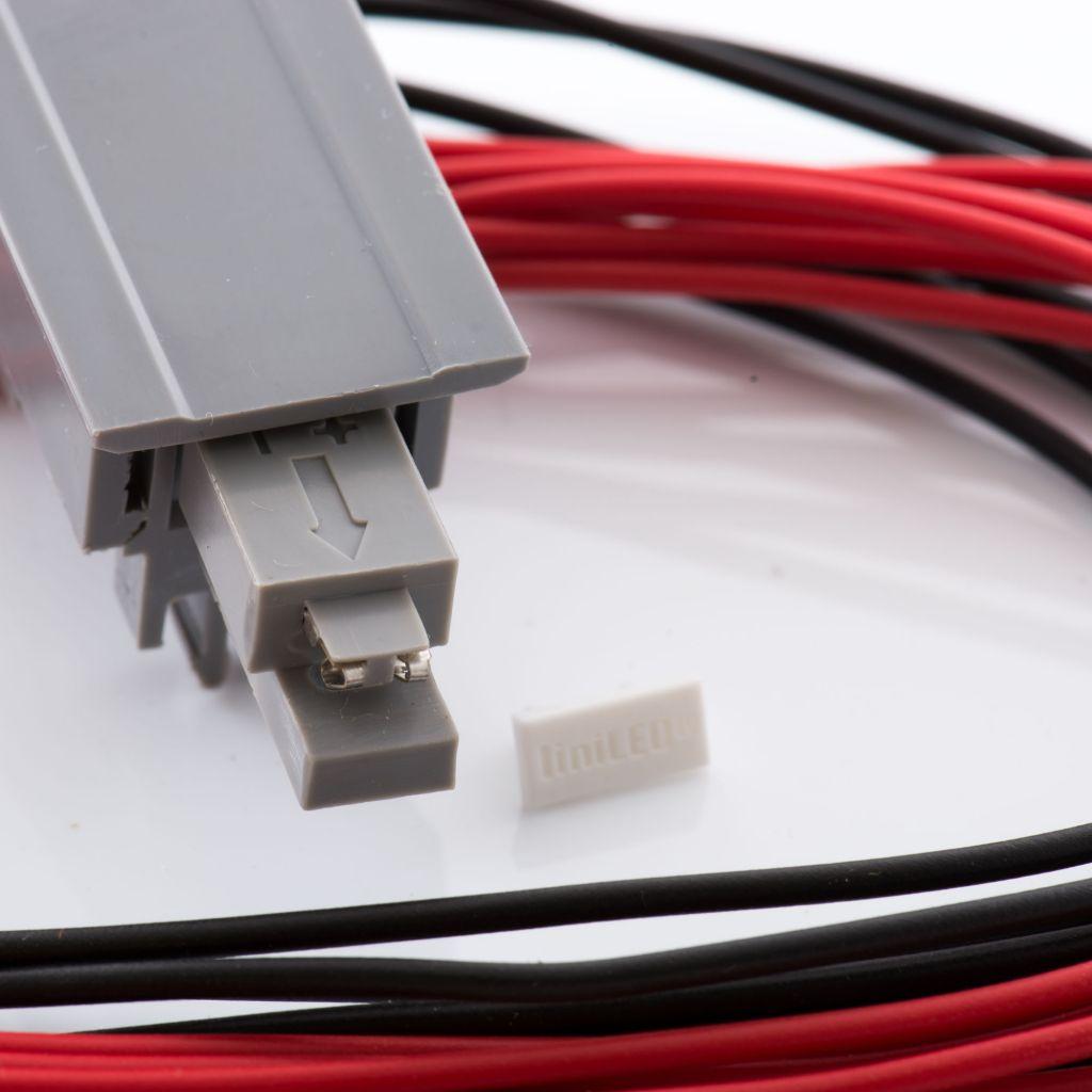 CONNECTEUR ELECTRIQUE IP65 POUR MAIN COURANTE LED Ø48.3 mm