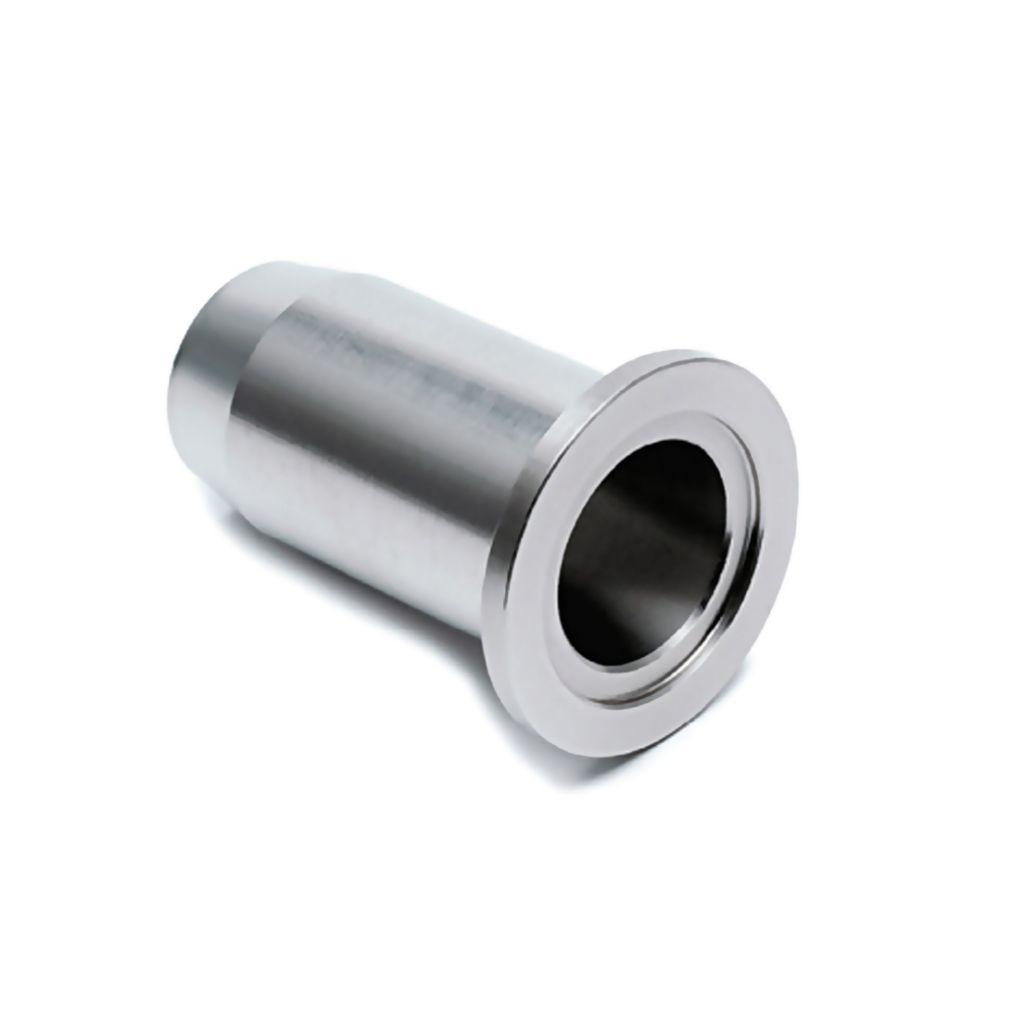 Douille pour console Ø35mm - L47 mm - aspect inox brossé