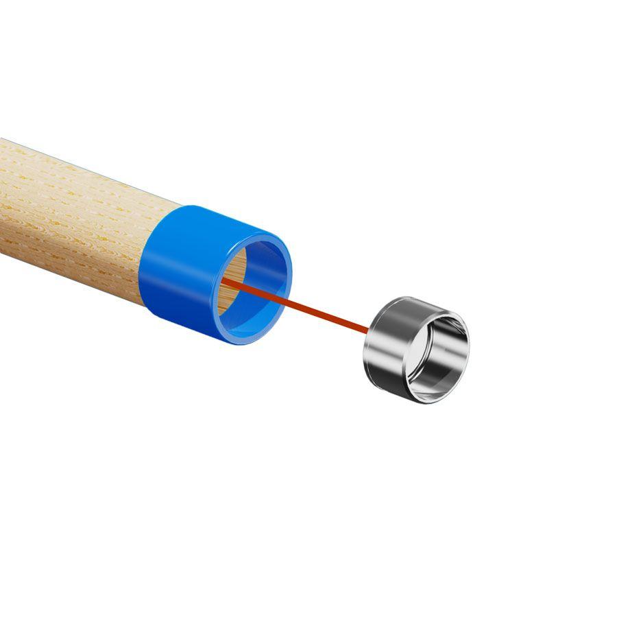 Gabarit de perçage pour adaptateur sur main courante bois
