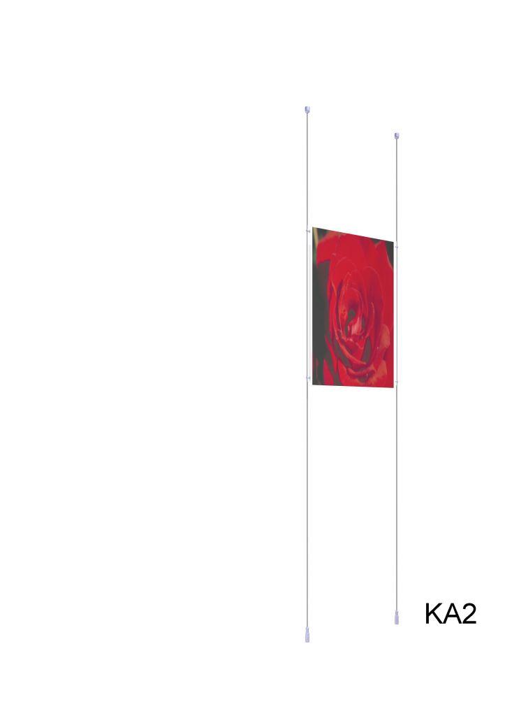 Kit porte-affiche A2