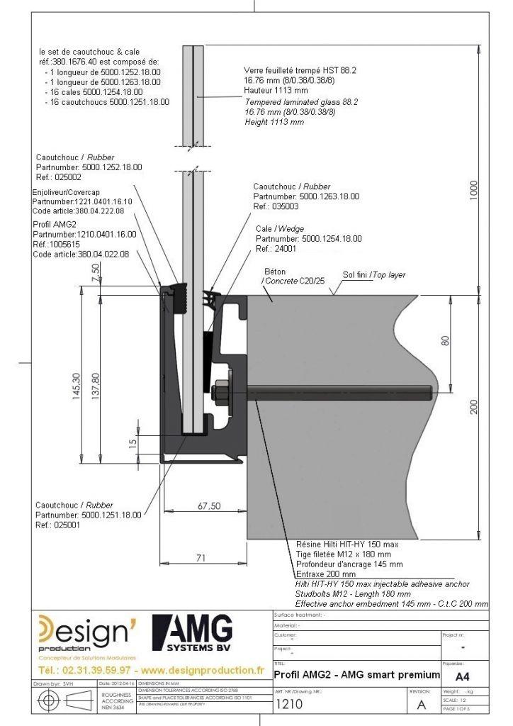 Kit profil de sol AMG2