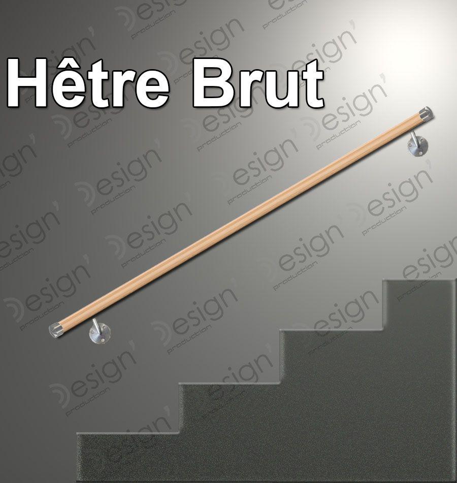 kit main courante bois h tre brut pour vos rampes d 39 escalier int rieur. Black Bedroom Furniture Sets. Home Design Ideas