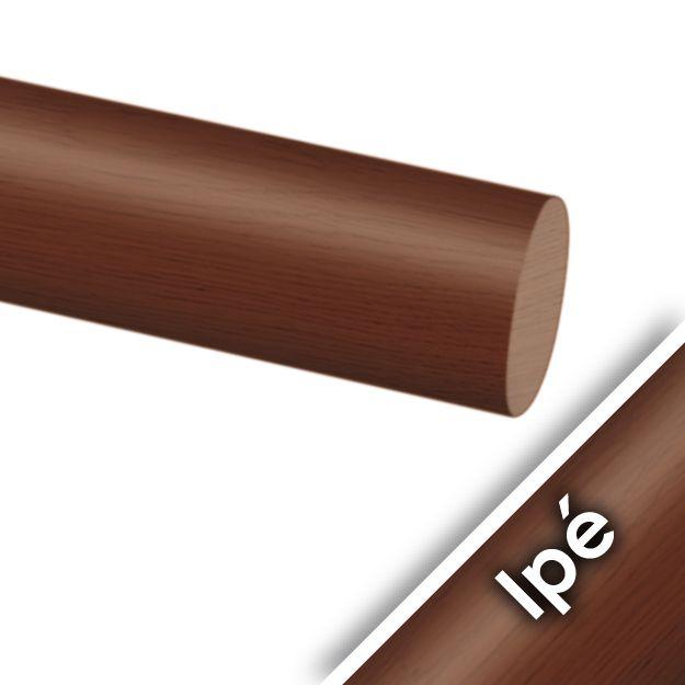 Main courante bois exotique ipé