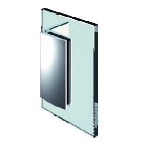 Penture verre/mur 90° ouverture intérieure