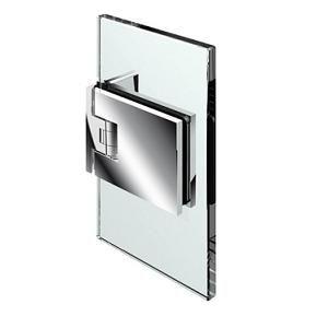 Penture verre/mur 90° ouverture va-et-vient