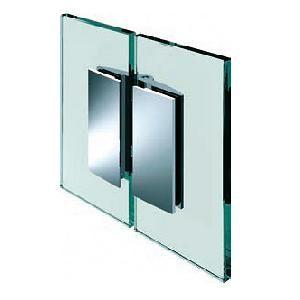 Penture verre/verre 180° ouverture intérieure