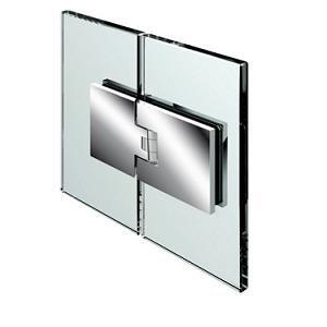 Penture verre/verre 180° ouverture va-et-vient