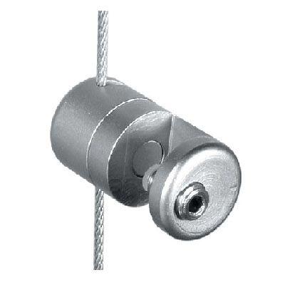 Pince simple latérale orientable sur tige Ø3 mm
