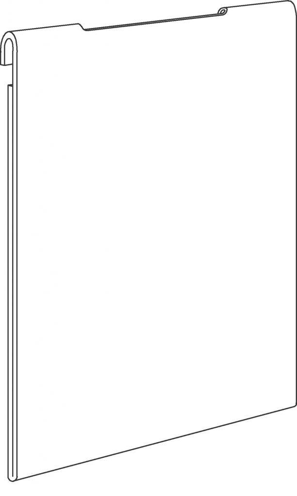 Pochette porte-affiche - suspendue
