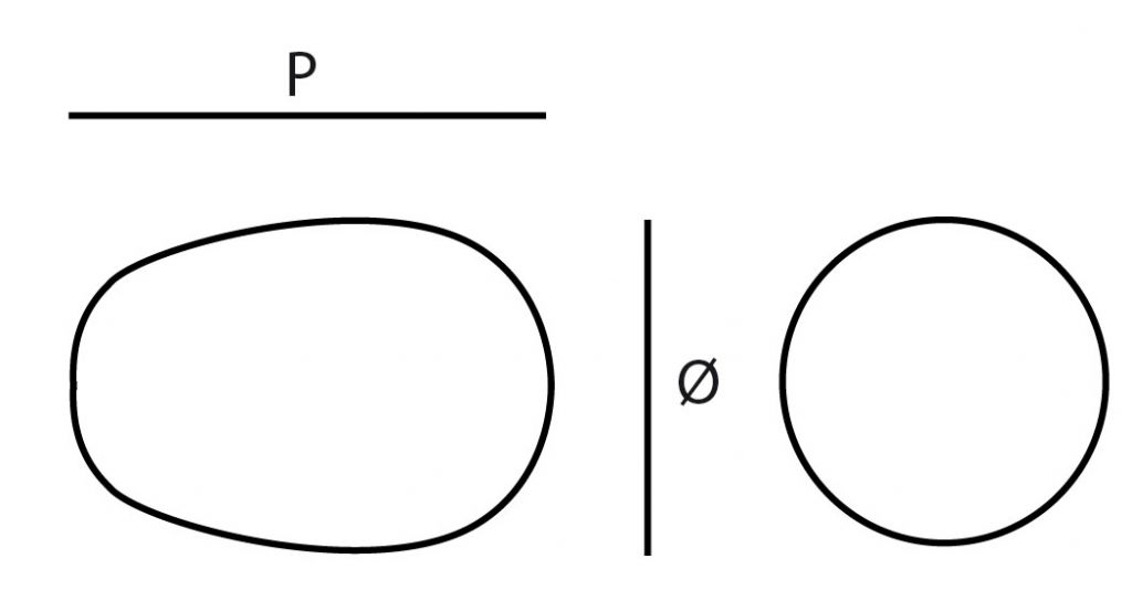 Poignée bouton plot fixe inox