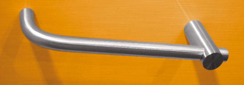 Poignée inox coudée et droite pour meubles et tiroirs