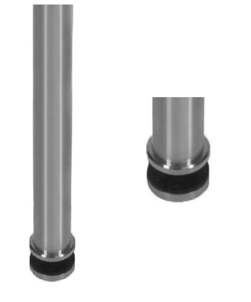 Poteau de balustrade modèle 64 - H1300 mm