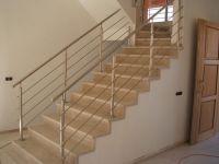 Rambarde à barre - escalier