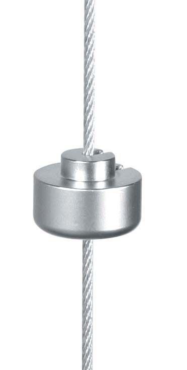 Support de dessous d\'étagère sur câble Ø1,5 mm