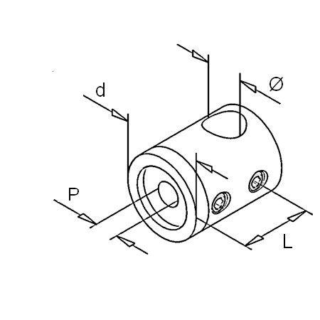 Support transversal plat
