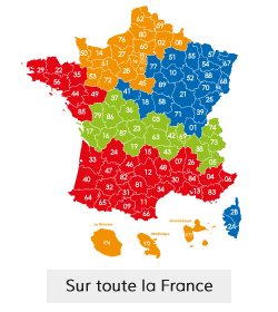 Sur toute la France