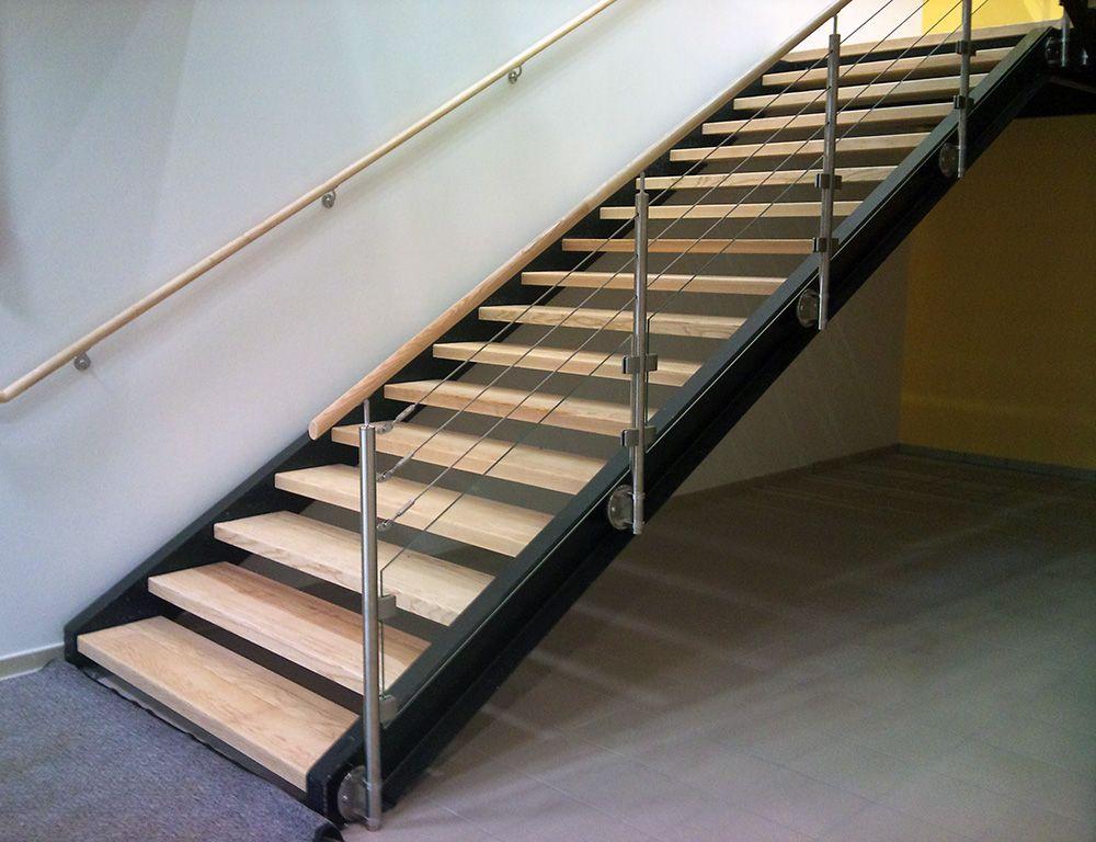 Garde corps inox verre c ble for Escalier exterieur plastique