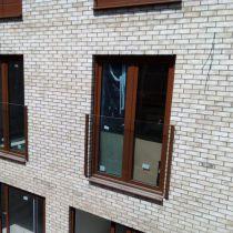 Garde-corps balcon à la française - montage en applique