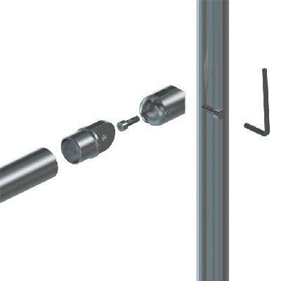Adaptateur orientable tube/tube