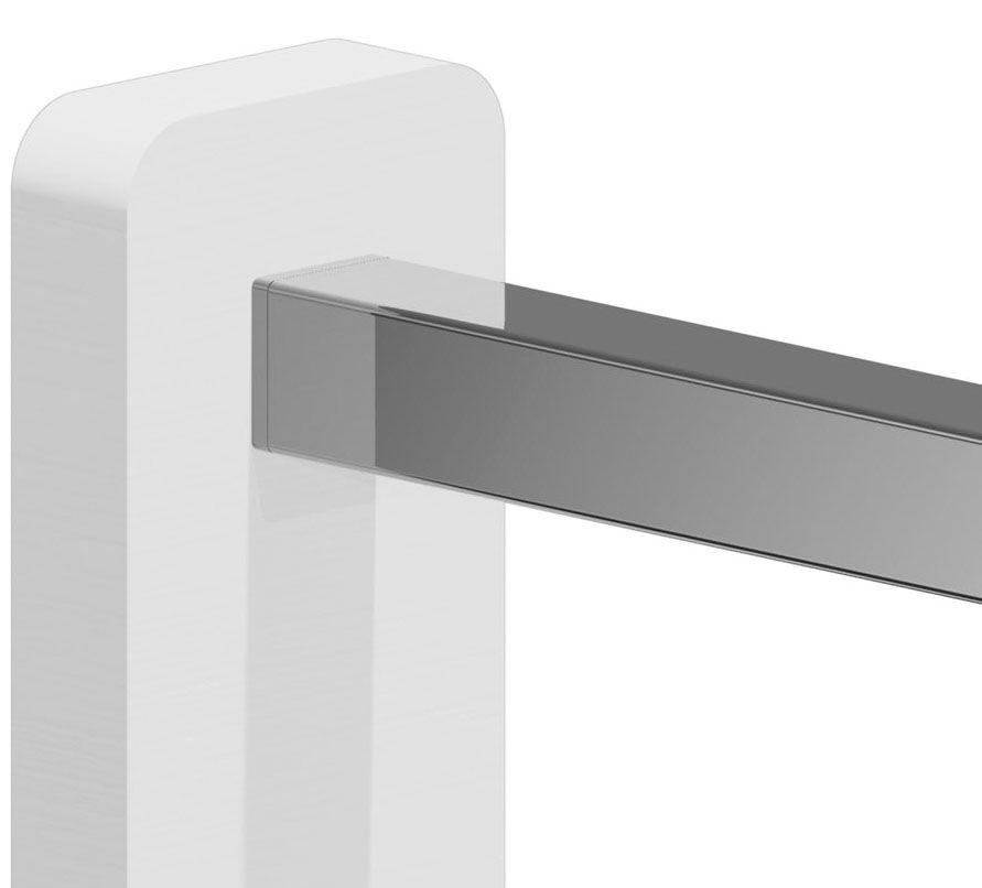 Adaptateur plat/tube carré