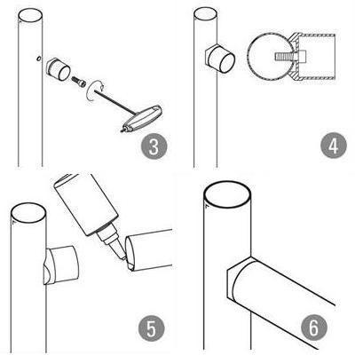 Adaptateur tube/tube