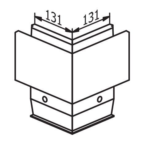 ANGLE 90° EXTERIEUR POUR TL-3031