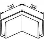 ANGLE 90° INTERIEUR/EXTERIEUR - TL-6010