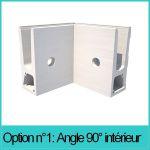 ANGLE 90° INTERIEUR POUR  TL-6031