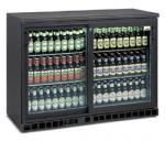 Armoire frigorifique 2 portes coulissantes 250L