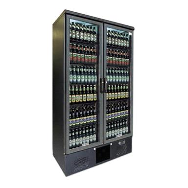 Armoire frigorifique 2 portes vitrées 500L