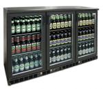 Armoire frigorifique 3 portes vitrées 315L