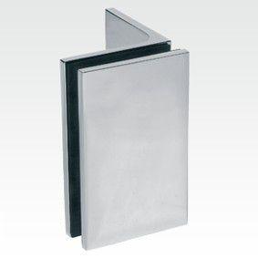 Connecteur verre/mur 90°