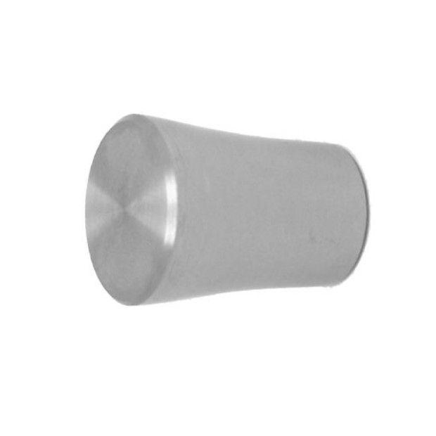 Embout d\'extrémité décoratif femelle pour tube ou barre inox 12 mm
