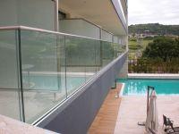Garde-corps en verre Pour balcon