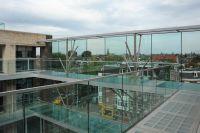 Garde fou en verre pour habitat collectif