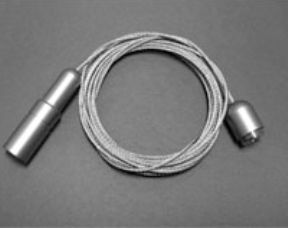 Kit câble Ø1,5 mm pour fixation sol/plafond