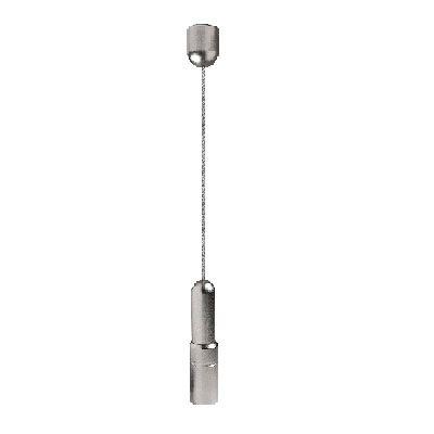 Kit câble Ø3 mm fixation sol/plafond