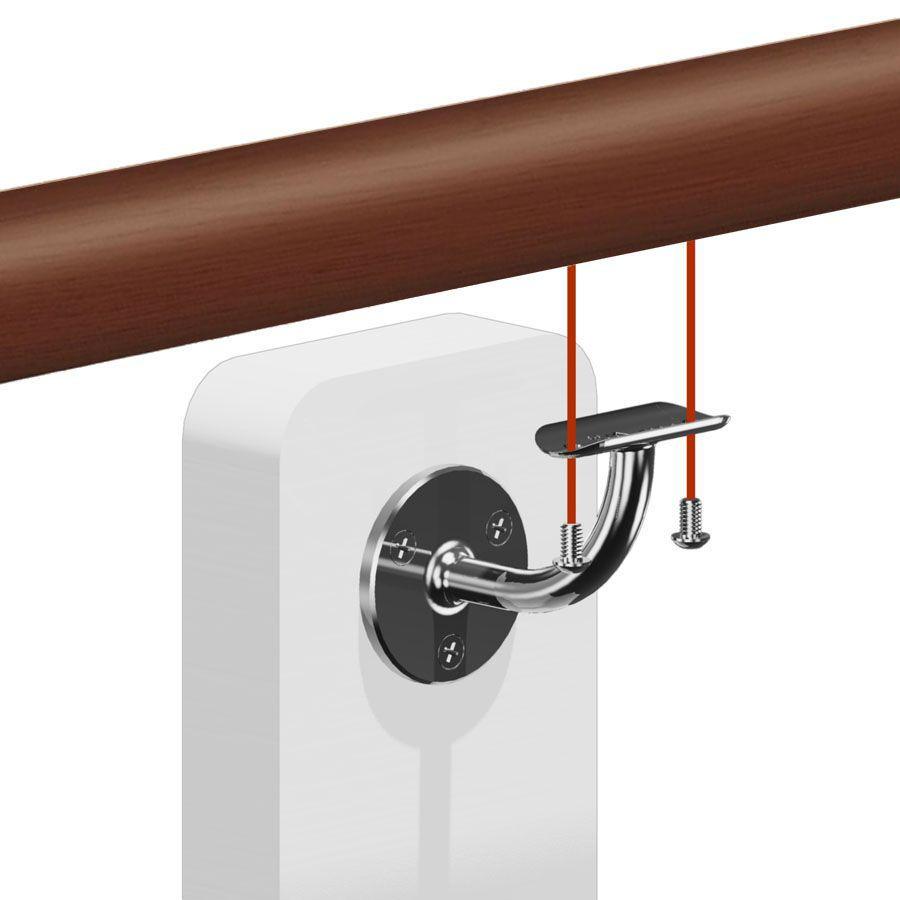 Kit main courante bois ip brut pour vos rampes d 39 escalier for Escalier exterieur bois kit