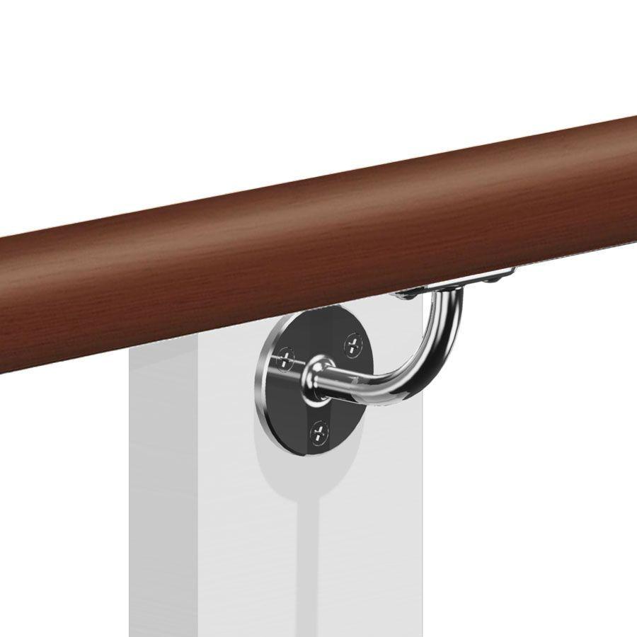 Kit Main Courante Bois Ip Brut Pour Vos Rampes D 39 Escalier Ext Rieur