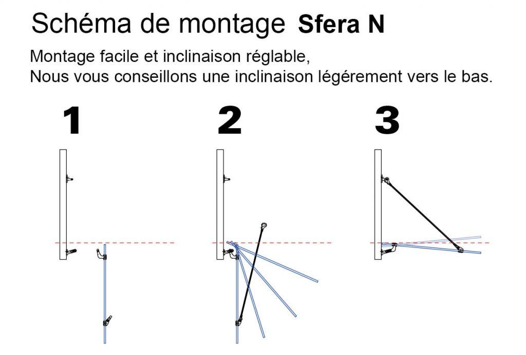 Kit marquise SFERA-N - sans verre