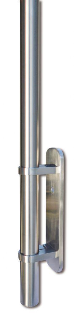 Kit poteau de balustrade modèle 82 - H 1200 mm