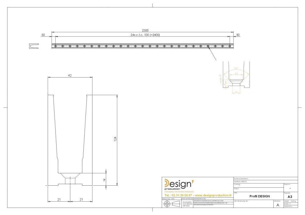 Kit profil de sol DESIGN