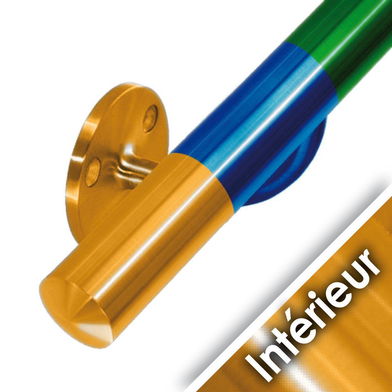Main courante acier en kit - SELON VOTRE COULEUR