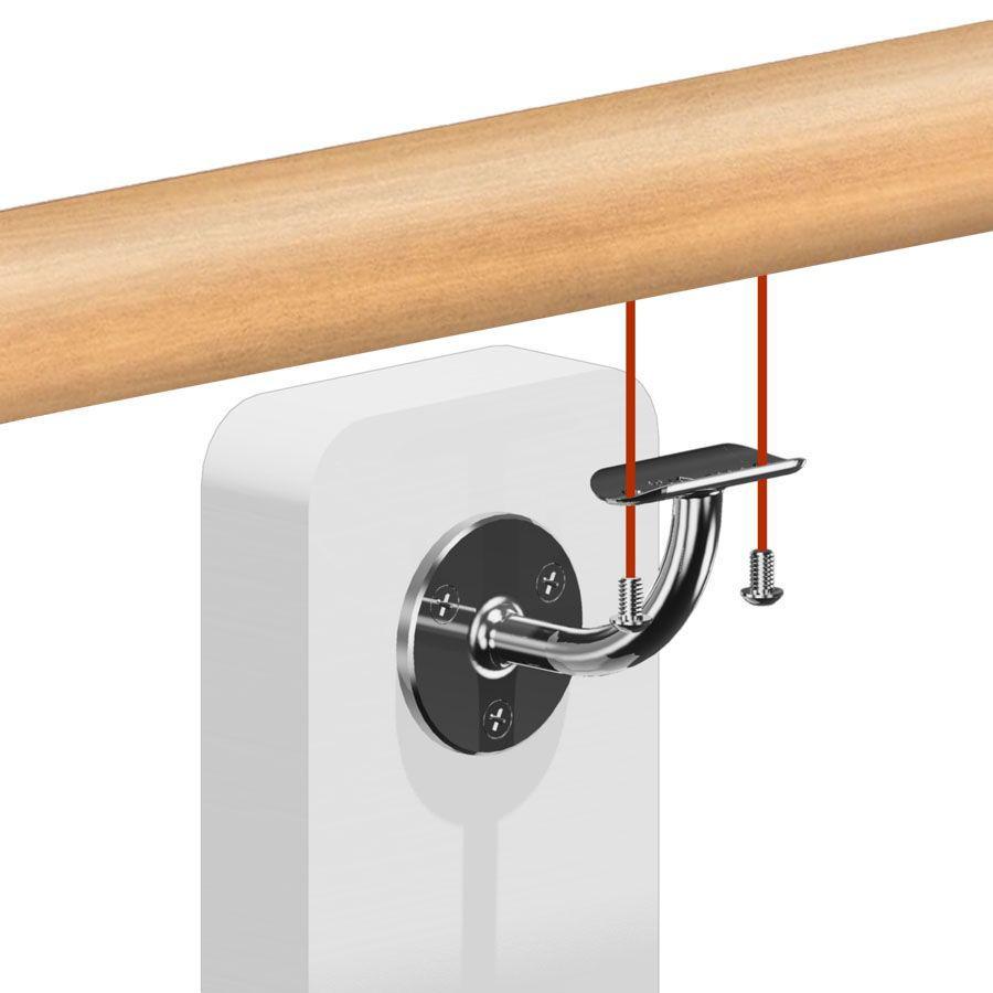 Main courante bois - hêtre- interieur