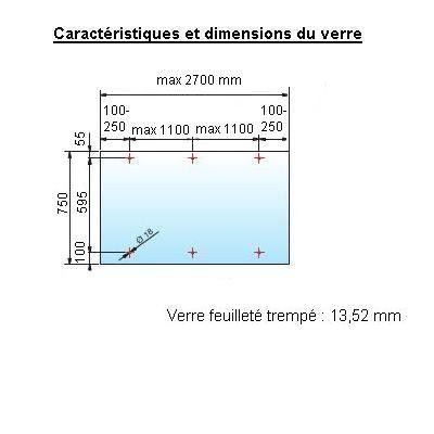 Marquise LOUNA 750 - 3 haubans