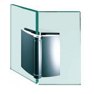 Penture verre/verre 135° ouverture extérieure