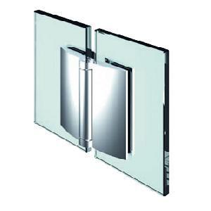 Penture verre/verre 180° ouverture extérieure