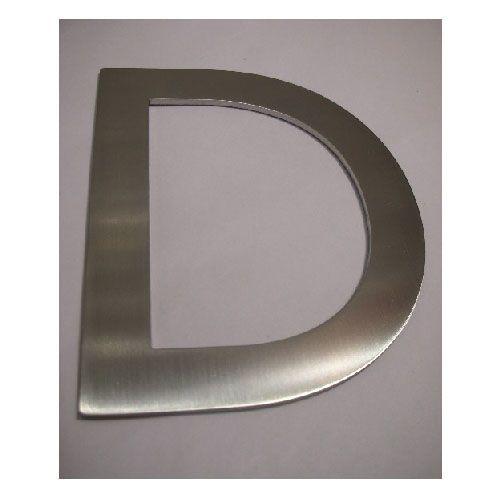 Pictogramme lettre majuscule sur adhésif - Hauteur 100 mm