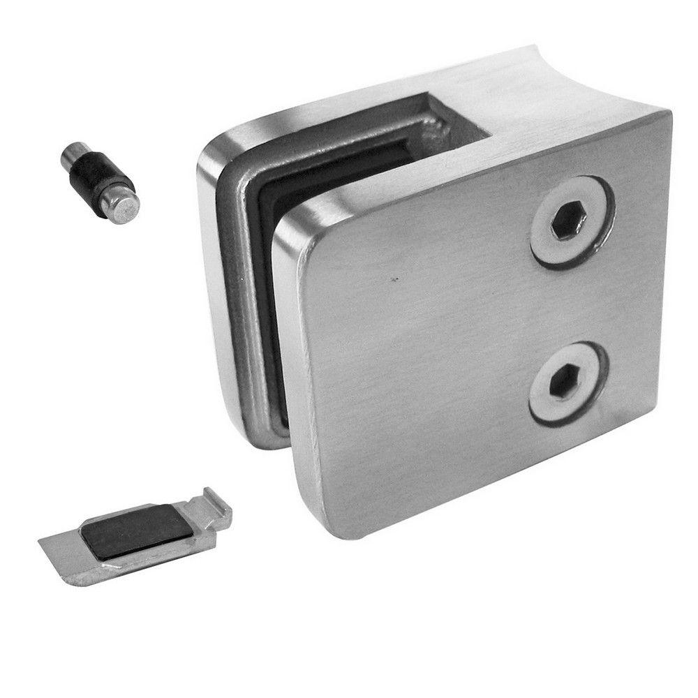 Pince à verre INOX 304 - Modèle 21 - 45 x 45 mm - sans caoutchouc